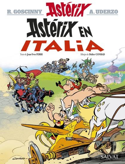 ASTÉRIX EN ITALIA.
