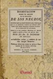 DISERTACIÓN SOBRE EL ORIGEN DE LA ESCLAVITUD DE LOS NEGROS