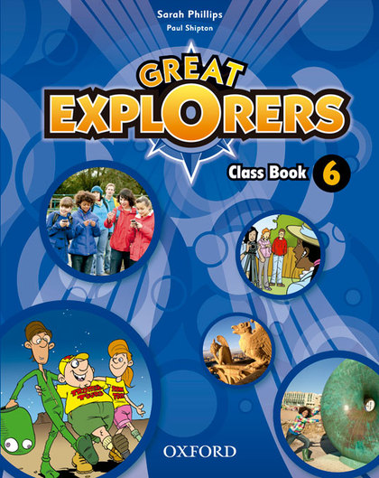 GREAT EXPLORERS 6 CLASS BOOK