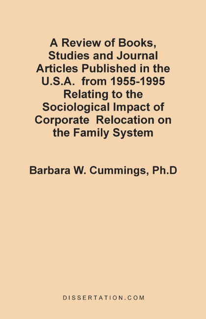 A   REVIEW OF BOOKS, STUDIES AND JOURNAL ARTICLES PUBLISHED IN THE U.S.A. FROM 1
