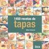 1450 RECETAS DE TAPAS.