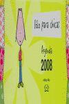 AGENDA 2008 SOLO PARA CHICAS