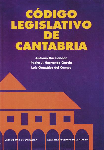 CÓDIGO LEGISLATIVO DE CANTABRIA