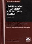 LEGISLACIÓN FINANCIERA Y TRIBUTARIA BÁSICA