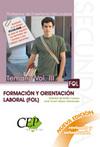 TEMARIO OPOSICIONES VOL. III. CUERPO DE PROFESORES DE ENSEÑANZA SECUNDARIA. FORM.