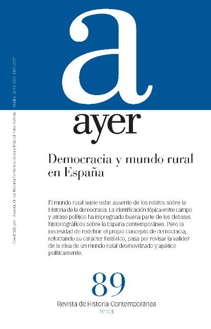 DEMOCRACIA Y MUNDO RURAL EN ESPAÑA. AYER 89