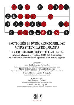CURSO DE DELEGADO DE PROTECCIÓN DE DATOS. PROTECCIÓN DE DATOS, RESPONSABILIDAD ACTIVA Y TÉCNICA