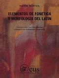 ELEMENTOS DE FONÉTICA Y MORFOLOGÍA DEL LATÍN.