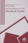 CURSO DE DERECHO CIVIL II: DERECHO DE FAMILIA