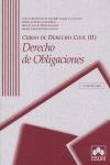 DERECHO DE OBLIGACIONES DERECHO CIVIL II