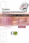 TEMARIO OPOSICIONES CUERPO GENERAL ADMINISTRATIVO DE LA ADMINISTRACIÓN DEL ESTAD.