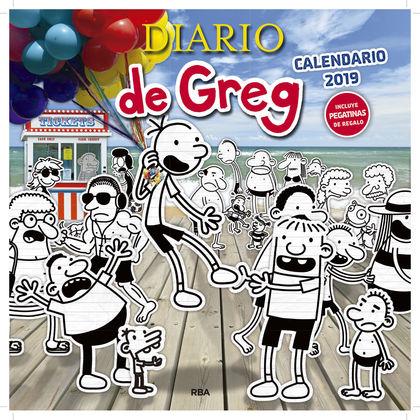 CALENDARIO 2019 DIARIO DE GREG