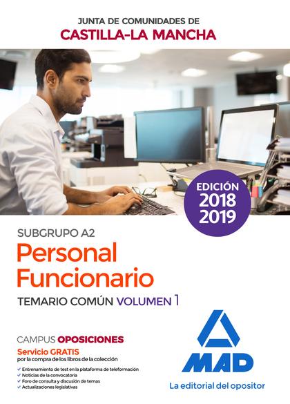 PERSONAL FUNCIONARIO (SUBGRUPO A2) DE LA ADMINISTRACIÓN DE LA JUNTA DE COMUNIDAD