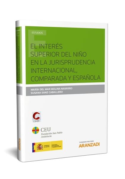 INTERES SUPERIOR DEL NIÑO EN LA JURISPRUDENCIA INTERNACIONA.