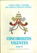 CONCORDATOS VIGENTES. TOMO II.
