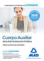 018 SIM EXAMEN CUERPO AUXILIAR COMUNIDAD AUTONOMA DE CANARIAS ADMINISTRACION PUB