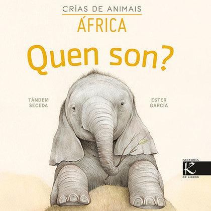 QUEN SON? CRÍAS DE ANIMAIS - ÁFRICA.