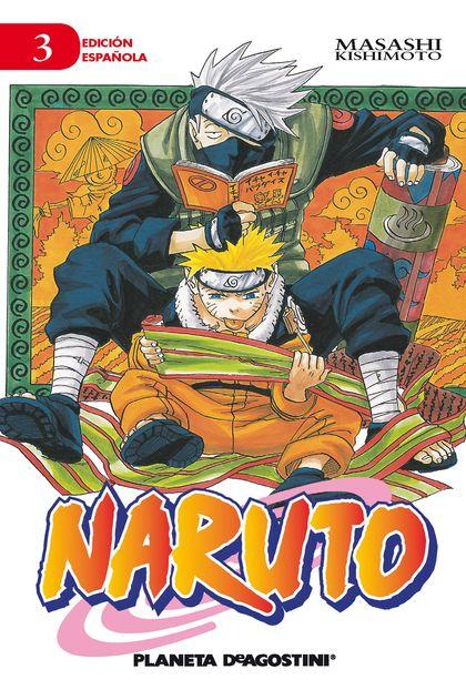 NARUTO Nº 03.