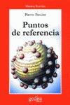 PUNTOS DE REFERENCIA
