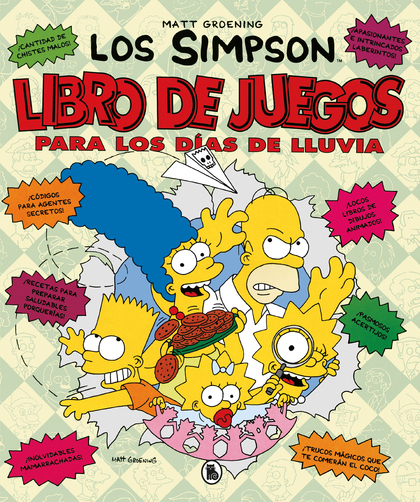 LIBRO DE JUEGOS PARA LOS DÍAS DE LLUVIA.