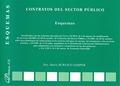 CONTRATOS DEL SECTOR PÚBLICO : ESQUEMAS