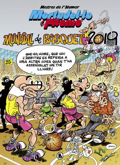 MUNDIAL DE BÀSQUET 2019 (MESTRES DE L´HUMOR 53)