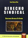 DERECHO SINDICAL. CUESTIONES ACTUALES EN ESPAÑA