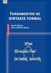 FUNDAMENTOS DE SINTAXIS FORMAL.