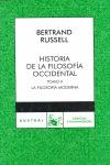 HISTORIA DE LA FILOSOFÍA OCCIDENTAL, II. LA FILOSOFIA MODERNA