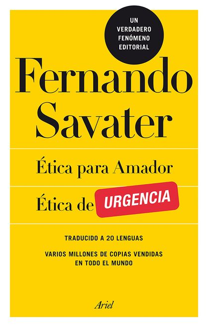 PACK ÉTICA PARA AMADOR / ÉTICA DE URGENCIA.
