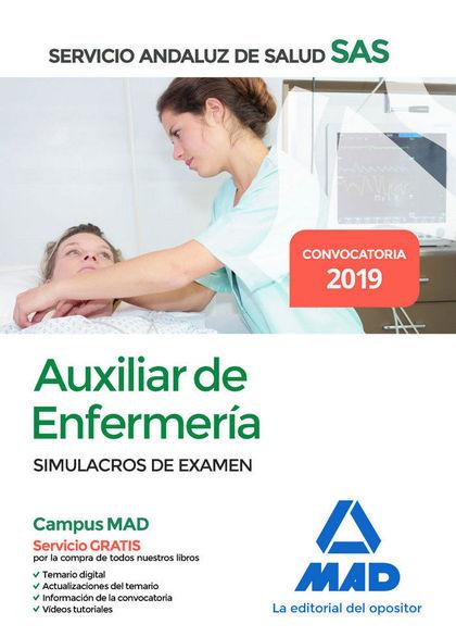 AUXILIAR ENFERMERÍA DEL SERVICIO ANDALUZ DE SALUD. SIMULACROS DE EXAMEN