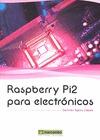 RASPBERRY PI2 PARA ELECTRÓNICOS.