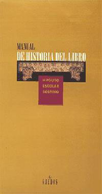 MANUAL DE HISTORIA DEL LIBRO