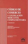 CÓDIGO DE COMERCIO Y LEGISLACIÓN MERCANTIL COMPLEMENTARIA