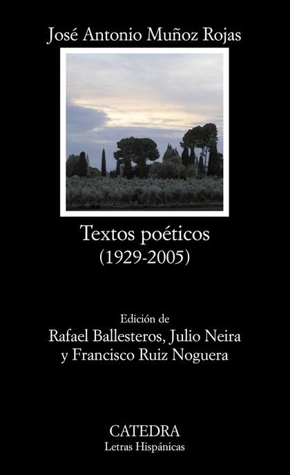 TEXTOS POÉTICOS (1929-2005)
