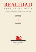 REALIDAD, REVISTA DE IDEAS. BUENOS AIRES, 1947-1949