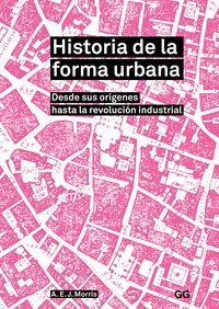 HISTORIA DE LA FORMA URBANA