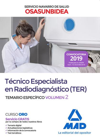 TÉCNICO ESPECIALISTA EN RADIODIAGNÓSTICO (TER) DEL SERVICIO NAVARRO DE SALUD-OSA