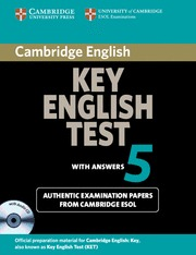 CAMBRIDGE KEY ENGLISH TEST 5 SF ST PK WITH ANSWERS
