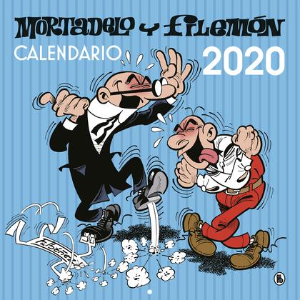 CALENDARIO DE PARED MORTADELO Y FILEM?N 2020.