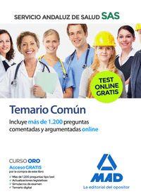 TEMARIO COMÚN DEL SERVICIO ANDALUZ DE SALUD