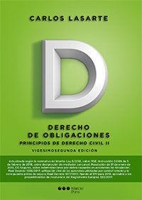 2018 PRINCIPIOS DE DERECHO CIVIL TOMO II DERECHO DE OBLIGACIONES.