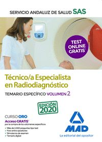 TECNICOS ESPECIALISTA RADIODIAGNOSTICO SAS VOL 2