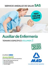 AUXILIAR ENFERMERIA DEL SAS TEMARIO ESPECIFICO VOLUMEN 25