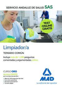 LIMPIADOR/A DEL SAS TEMARIO COMUN