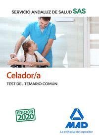 CELADOR/A DEL SERVICIO ANDALUZ DE SALUD. TEST COMÚN.