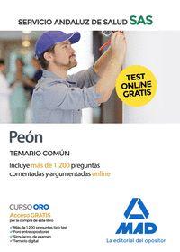 PEÓN DEL SERVICIO ANDALUZ DE SALUD. TEMARIO COMÚN