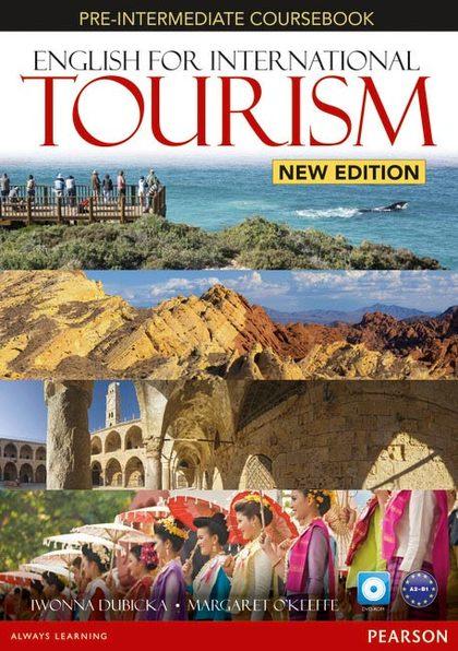ENGLISH FOR INTERNATIONAL TOURISM PRE-INTERMEDIATE COURSEBOOK WITH DVD-ROM (NE)