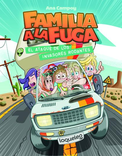FAMILIA A LA FUGA 4 CAST.