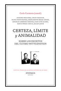 CERTEZA, LÍMITE Y ANIMALIDAD